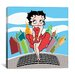 iCanvasArt Betty Boop Marlyn Canvas Wall Art