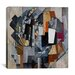 "<strong>""Bureau And Room"" Canvas Wall Art By Kazimir Malevich</strong> by iCanvasArt"