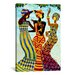iCanvasArt Celebration by Keith Mallett Graphic Art on Canvas