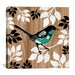 "iCanvasArt ""Bird Patchwork II"" Canvas Wall Art by Erin Clark"