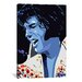 <strong>Blue Elvis (Presley) Graphic Art on Canvas</strong> by iCanvasArt