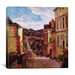 """<strong>""""A Suburban Street, 1884"""" Canvas Wall Art by Paul Gauguin</strong> by iCanvasArt"""