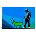 <strong>Choose Your Weapon Keith Haring Dog lll Graphic Art on Canvas</strong> by iCanvasArt