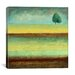 """iCanvasArt """"A Tree by a River"""" Canvas Wall Art by Pablo Esteban"""
