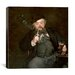 "<strong>iCanvasArt</strong> ""A Good Glass of Beer (Le Bon Bock)"" Canvas Wall Art by Edouard Manet"