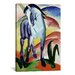 <strong>'Blue Horse' by Franz Marc Painting Print on Canvas</strong> by iCanvasArt