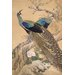 <strong>iCanvasArt</strong> A Pair of Peacocks in Spring by Imao Keinen Painting Print on Canvas