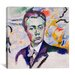 "<strong>""Autoportrait"" Canvas Wall Art by Robert Delaunay</strong> by iCanvasArt"