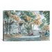 iCanvasArt 'Autumn on Gwenn Dr' by Stanton Manolakas Painting Print on Canvas