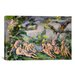 <strong>iCanvasArt</strong> 'Bathers 1' by Paul Cezanne Painting Print on Canvas