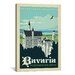 <strong>iCanvasArt</strong> 'Bavaria, Germany' by Anderson Design Group Vintage Advertisement on Canvas