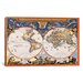 <strong>Antique World Map - Nova Et Accuratissima Totius Terrarum Orbis Tab...</strong> by iCanvasArt
