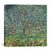 "<strong>iCanvasArt</strong> ""Apfelbaum (Apple Tree)"" Canvas Wall Art by Gustav Klimt"