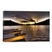 iCanvasArt 'Yellow Canoes' by Bob Larson Photographic Print on Canvas