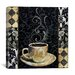 """<strong>""""Cafe Noir II"""" Canvas Wall Art by Color Bakery</strong> by iCanvasArt"""