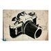 <strong>iCanvasArt</strong> Street Art Camera Graffiti Graphic Art on Canvas