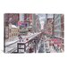 <strong>'Chicago, the Loop' by Stanton Manolakas Painting Print on Canvas</strong> by iCanvasArt