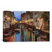 <strong>iCanvasArt</strong> 'Alba a Venezia' by Guido Borelli Painting Print on Canvas