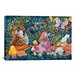 "<strong>iCanvasArt</strong> Decorative Art ""Alice And The Caterpiller"" Canvas Wall Art"
