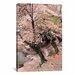 <strong>iCanvasArt</strong> 'Cherry Blossom Lane' by Monte Nagler Painting Print on Canvas