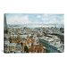 iCanvasArt 'Boston: East From St House 1876' by Stanton Manolakas Painting Print on Canvas