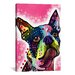 <strong>iCanvasArt</strong> 'Boston Terrier' by Dean Russo Graphic Art on Canvas