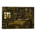 <strong>'A Weaver's Cottage' by Vincent van Gogh Painting Print on Canvas</strong> by iCanvasArt