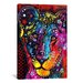 <strong>'Young Lion' by Dean Russo Graphic Art on Canvas</strong> by iCanvasArt