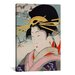 <strong>A Courtesan Japanese Woodblock Painting Print on Canvas</strong> by iCanvasArt