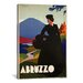 <strong>iCanvasArt</strong> Abruzzo Vintage Advertisement on Canvas
