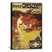 <strong>American Crescent Bicycles Vintage Poster  Canvas Print Wall Art</strong> by iCanvasArt