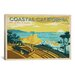<strong>iCanvasArt</strong> 'ASA-Coastal California Horiz' by Anderson Design Group Vintage Advertisment on Canvas