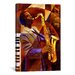 iCanvasArt 'Jammin' by Keith Mallett Painting Print on Canvas