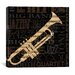 <strong>iCanvasArt</strong> Jazz Improv I Canvas Wall Art from NBL Studio