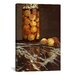 <strong>'Jar of Peaches (Das Pfirsichglas)' by Claude Monet Painting Print ...</strong> by iCanvasArt