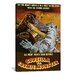 <strong>Godzilla Vs. Cosmic Monster Vintage Movie Poster Canvas Print Wall Art</strong> by iCanvasArt