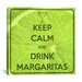 <strong>Keep Calm and Drink Margaritas Textual Art on Canvas</strong> by iCanvasArt