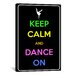 <strong>Keep Calm and Dance On Textual Art on Canvas</strong> by iCanvasArt