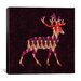 <strong>'Ikat Deer' by Budi Satria Kwan Graphic Art on Canvas</strong> by iCanvasArt