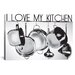 <strong>I Love My Kitchen by Luz Graphics Graphic Art on Canvas</strong> by iCanvasArt