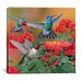 """<strong>""""Hummingbirds and Flowers"""" Canvas Wall Art by William Vanderdasson</strong> by iCanvasArt"""