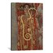 <strong>'Hygieia (Detail from the Medicine') by Gustav Klimt Painting Print...</strong> by iCanvasArt