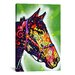 <strong>Horse by Dean Russo Graphic Art on Canvas</strong> by iCanvasArt