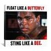 <strong>Muhammad Ali Float like a Butterfly Sting like a Bee Graphic Art on...</strong> by iCanvasArt