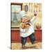 iCanvasArt Happy Chef I by Daphne Brissonnet Painting Print on Canvas