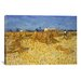iCanvasArt 'Corn Harvest in Provence' by Vincent van Gogh Painting Print on Canvas