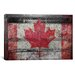 <strong>iCanvasArt</strong> Canada Hockey Goal Gate #3 Graphic Art on Canvas