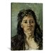 <strong>'Head of a Prostitute' by Vincent Van Gogh Painting Print on Canvas</strong> by iCanvasArt