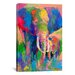 <strong>Elephant by Richard Wallich Painting Print on Canvas</strong> by iCanvasArt