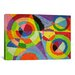 <strong>iCanvasArt</strong> 'Color Explosion' by Robert Delaunay Painting Print on Canvas